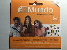 Tarjeta SIM/Micro/Nano de Prepago ORANGE MUNDO 5€ de Saldo y 4G. GO EUROPA