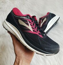 Brooks Addiction 13 Sneakers in Black/Pink/Grey Womens Size 8 (2E Extra Wide)