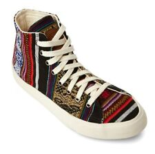 Inkkas Blackbird High Top Sneakers - Vegan, Peruvian Textiles, Fair Trade Shoes