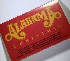 ALABAMA Christmas Cassette EXCELLENT