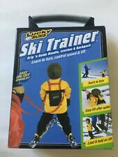 Lucky Bums (2006) Ski Trainer Grip 'n Guide Handle, Leashes & Backpack