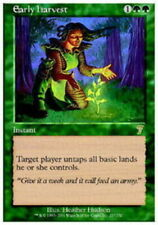 Early Harvest ~ Lightly Played 7th Edition Seventh UltimateMTG Magic Green Card
