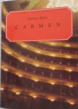 Bizet Vocal Piano Score Carmen English French Unmarked