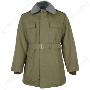 Czech Army M85 Parka Original Unissued with Liner - Olive Military Winter Coat