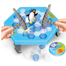 Breaking the Ice Save The Penguin Family Fun Game Educational Board Knock Toy LJ