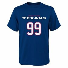 NFL Houston Texans J.J. Watt #99 Youth Name and Number T-Shirt, Large