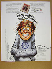 1985 jack davis cartoon art Mindscape RACTER ai Software vintage print Ad