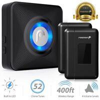 Wireless Window/Door Open Entry Security Alarm Doorbell 52 Chime Magnetic Sensor