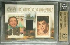 BGS 9.5 2011 Hollywood Materials Dual Stamp Swatch Relic JUDY GARLAND/250 #2