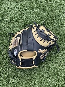 """Rawlings Heart of the Hide 'PROYM4BC' Catchers Mitt 34"""" Yadier Molina -Used Once"""