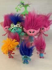 Trolls Dreamworks Lot Toy Figures Dolls Hasbro