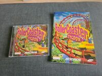 ROLLERCOASTER TYCOON MICROPROSE PC GAME WINDOWS COMPLETE VGC UK VERSION