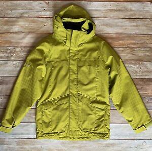 Men's Yellow-Green Ripzone Insulated Jacket or Ski Coat - Sz M