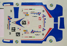 decals 1/43: Spice Le Mans 1988 N°121
