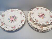 Vintage Grindley floral dinner service and plates