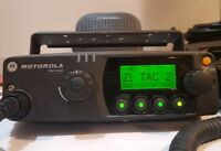 Motorola PM1500 VHF 136-174 MHz 110W P25 MDC Digital Mobile Radio AAM79KTD9PW5AN