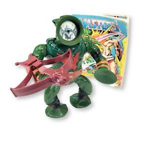 Vintage He Man Leech (Complete) 1985 Mattel MOTU Masters of the Universe (1001)