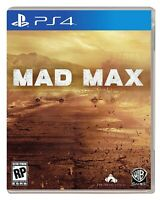 PLAYSTATION 4 PS4 GAME MAD MAX BRAND NEW AND SEALED