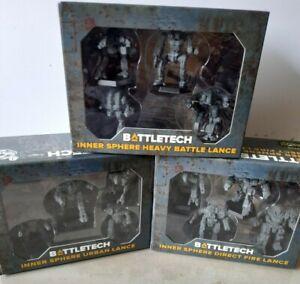 BattleTech - New Inner Sphere Lance Packs - 12 Mech Company
