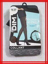 DIM MADAME SO DAILY NEUF T 3 /4 collant GRIS CHARBON modernité féminité