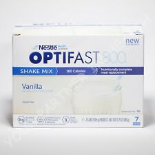 OPTIFAST 800 POWDER SHAKE | 1 CASE | VANILLA | 84 SERVINGS | 12 CARTONS | NEW