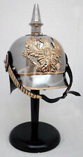 German Armor Prussian Pickle Haube Helmet WWI/WW2 Collectible Militaria Helmet