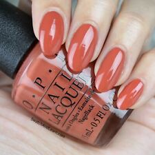OPI Kerry YANK MY DOODLE Orange Brown Tawny Copper Nail Polish Lacquer .5oz W58