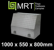 ALUMINIUM UTE TOOLBOX 1000* 550*800mm TOOL BOX MRT20