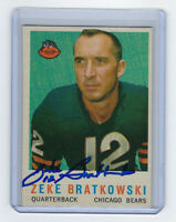 1959 BEARS Zeke Bratkowski signed card Topps #90 AUTO Autographed Chicag Packers