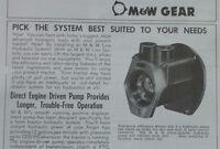 M&W Gear Live Hydraulic Pump Kit Brochure IH Farmall Super M MTA MD MV 400 450