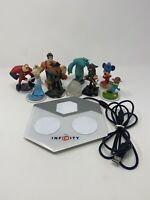 Disney Infinity INF-8032386 Portal Base Pad Wii/WiiU/PS3/PS4 Plus 8 Figures