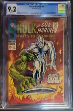 TALES TO ASTONISH #93 CGC 9.2 SILVER AGE Iconic 1st SILVER SURFER outside FF