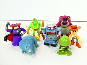 Disney Pixar Toy Story Lotso Twitch Sparks Trixie Zurg Villain Buddy Pack Lot