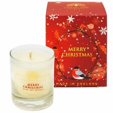 R4U-Merry Christmas English Soap Company Soy Wax Candle Scented Candles -Gift