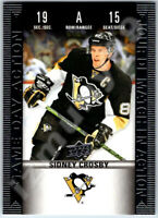 2019-20 UD TIM HORTONS GAME DAY ACTION SIDNEY CROSBY INSERT CARD # HGD15 BV Mint