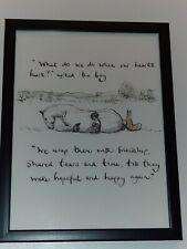 CHARLIE MACKESY FRAMED BOOK EXTRACT. 'THE BOY, THE MOLE, THE FOX AND THE HORSE.