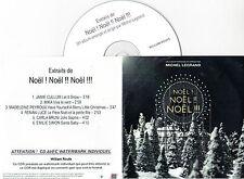 CD PLASTIC SLEEVE COLLECTOR 6t NOEL LEGRAND/MIKA/RENAN LUCE/CULLUM/BRUNI/SIMON