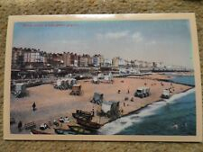 FIRST AD.POSTCARD.(REPRINT) OF VINTAGE. BRIGHTON OLD CHAIN PIER.  NOT POSTED