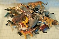 Plastic Animal Toy Lot