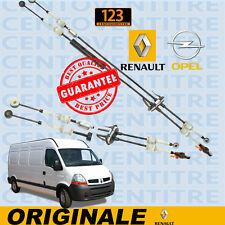 CAVI COMANDO CAMBIO RENAULT MASTER DAL 1998>  OPEL MOVANO 2.5 3.0 DTI DCI