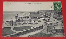 CPA CARTE POSTALE 1913 DIEPPE CASINO PLAGE SEINE MARITIME 76 PANORAMA LITTORAL