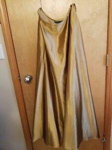Ralph Lauren Gold Color Metallic Size 12