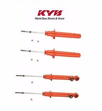 New Eagle Talon Mitsubishi Eclipse FWD Front and Rear Shock Absorber Kit KYB AGX