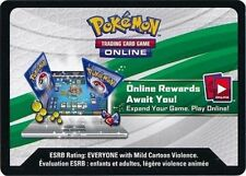 Pokemon TCGO Evolution Celebration Tin Leafeon GX SM146 ONLINE DECK CODE