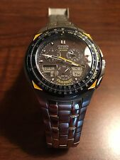 *Citizen Eco-drive Skyhawk C651-T000959 Blue Angels Digital & Analog Watch