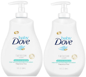 Baby Dove Sensitive Moisture Tip-to-Toe Wash - 13oz( 2 Pack )