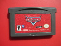 Cars Disney Pixar Nintendo Game Boy Advance Kids Classic *Cleaned & Tested*