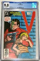 V #2 TV Series DC Comics 1985 CGC 9.0