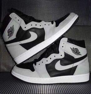 Air Jordan 1 Retro High (Size 12) 555088-035 'Shadow 2.0' Black/Grey **IN HAND**