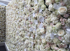 Classy Artificial Flower Floral Wall in 3mx3m or 6mx3m FOR EVENT DECOR HIRE ONLY